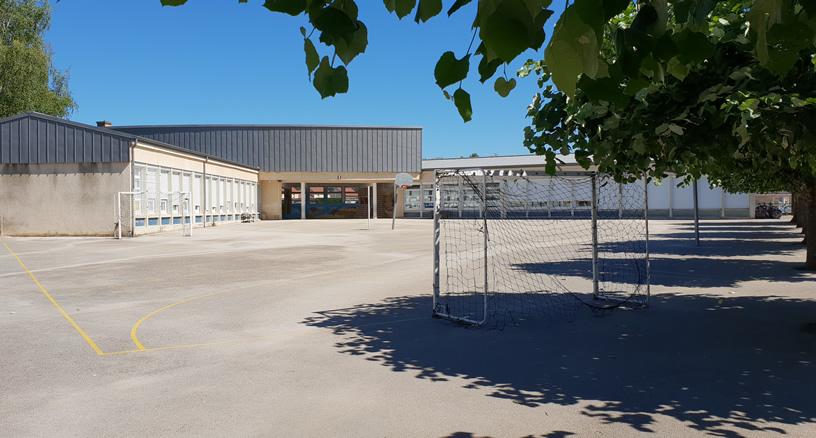 Ecole Elémentaire du Pasquier - Foucherans - Photo Richard Despres - (CC BY-NC-ND 4.0) - Juin 2018